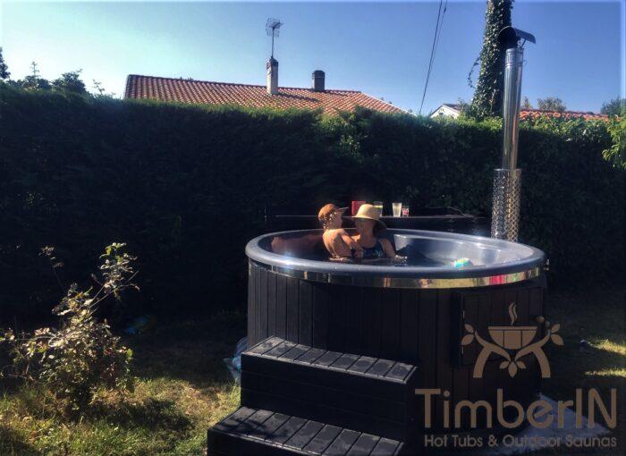 Bain Nordique WPC – Thermobois Avec Poêle à Granulés Ou à Bois (2)