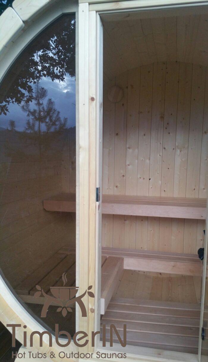 Sauna Extérieur Tonneau Mini Pour 2 4 Personnes (1)
