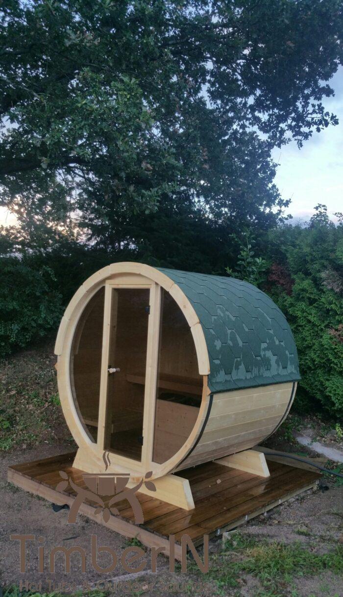 Sauna Extérieur Tonneau Mini Pour 2 4 Personnes (3)