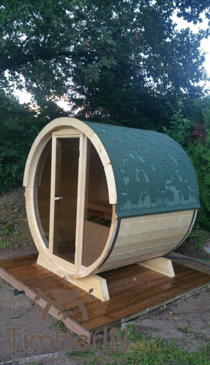 Sauna Extérieur Tonneau Mini Pour 2 4 Personnes (4)