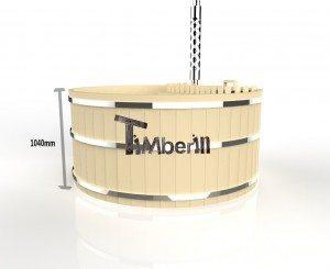 Bain nordique en bois basic 3d (2)