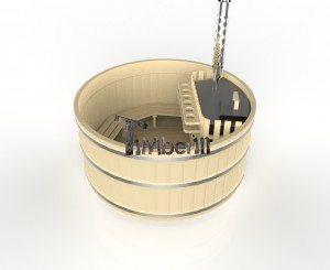 Bain nordique en bois basic 3d (5)